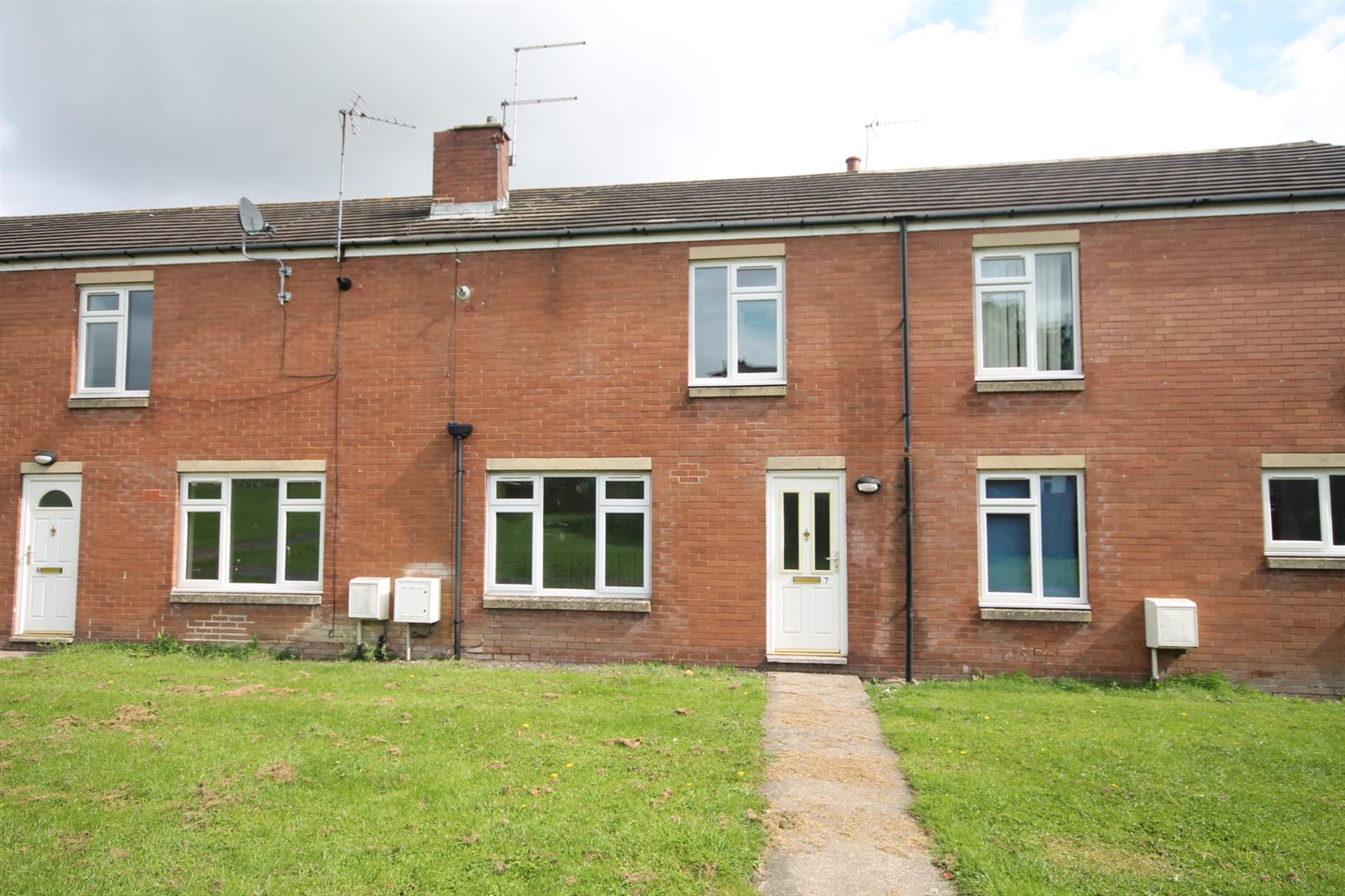 2 Bedrooms Terraced House for sale in Brackendale Court, Station Town, Wingate